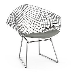 knoll kids Diamond Chair with Seat Cushion