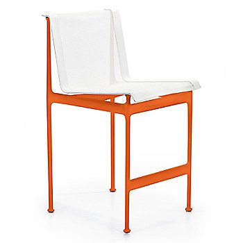 Orange Frame / White Mesh / White Strap