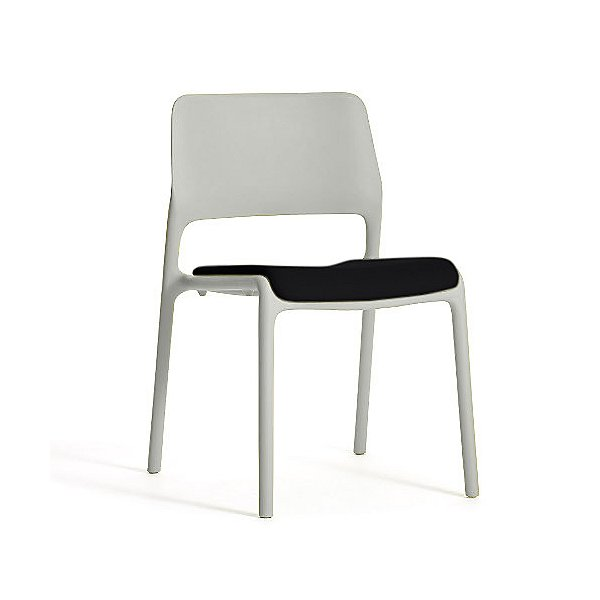 Spark Stacking Side Chair with Seat Cushion