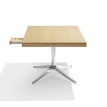 Side view with pencil drawer open