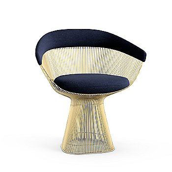 Platner Arm Chair in Gold