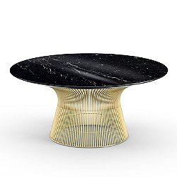 Platner 36 Inch Coffee Table in Gold