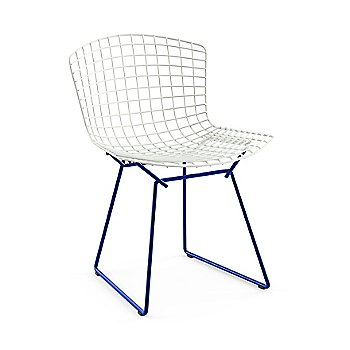 Bertoia Two-Tone Side Chair with Albini Desk