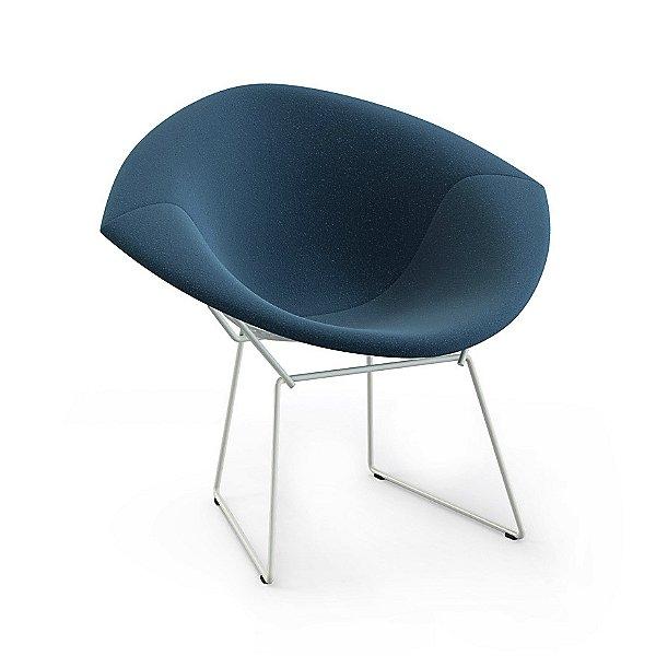 Bertoia Two-Tone Diamond Chair, Fully Upholstered