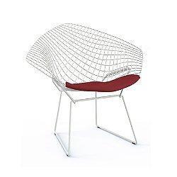 Bertoia Two-Tone Diamond Chair with Seat Cushion