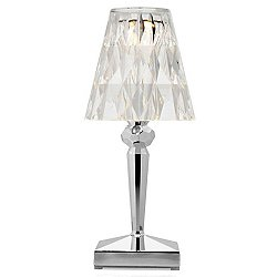 Precious Battery Table Lamp (Chrome) - OPEN BOX RETURN