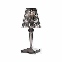 Battery LED Table Lamp (Smoke) - OPEN BOX RETURN