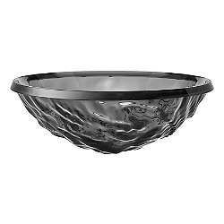 Kartell Moon Bowl  (Transparent Smoke) - OPEN BOX RETURN