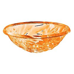 Kartell Moon Bowl  (Transparent Orange) - OPEN BOX RETURN