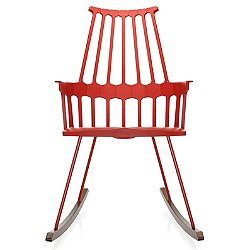 Comback Rocking Chair (Orangy Red) - OPEN BOX RETURN