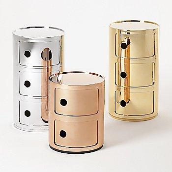 Chrome / Copper / Gold finish / 2 Hi / 3 Hi size