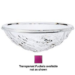 Kartell Moon Bowl (Transparent Fuchsia) - OPEN BOX RETURN