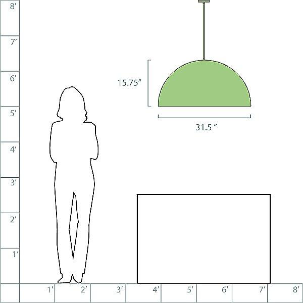 Cupo LED Pendant Light