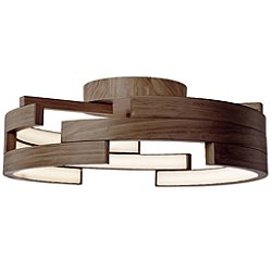Anello LED Semi-Flush Mount Ceiling Light