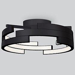 Anello LED Semi-Flush Mount Ceiling Light