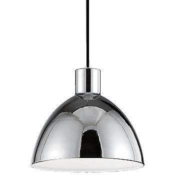 Shown in Chrome finish, Small size
