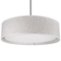 Dalton LED Semi-Flush Mount Ceiling Light No. PD7916