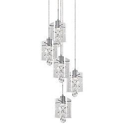 Navi LED Multi-Light Pendant Light