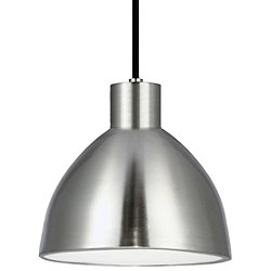 Chroma LED Pendant Light No. PD1709 (Nickel/Lrg) - OPEN BOX RETURN