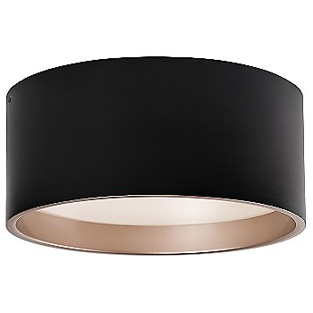 Large size / Black with Gold Interior finish