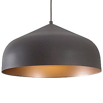 Graphite with Copper finish