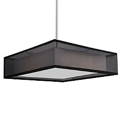 Covina LED Square Pendant Light