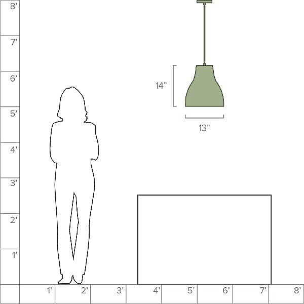 Cradle Bell Pendant Light