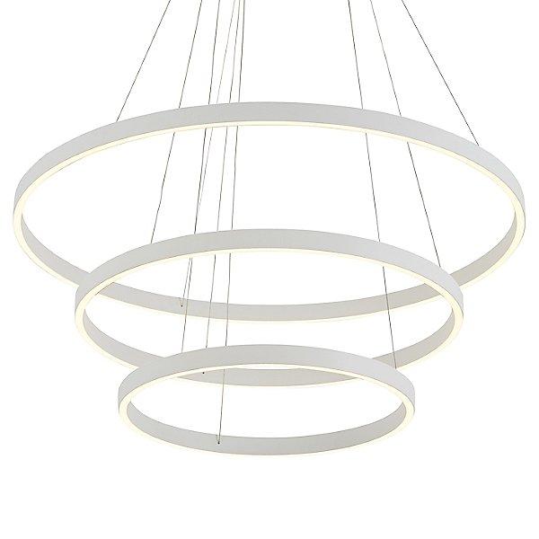 Cerchio LED 3-Tier Chandelier