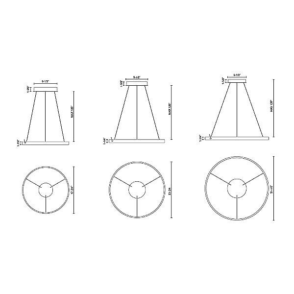 Cerchio LED Pendant Light