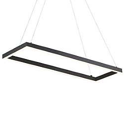 Piazza LED Rectangle Pendant Light