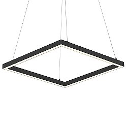 Piazza LED Square Pendant Light