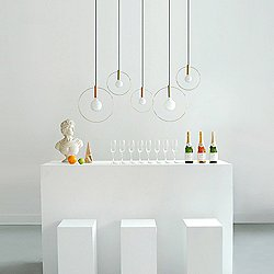 Aura Radical Linear Suspension Light