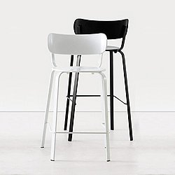 Stil Bar/Counter Stool (Counter/Black) - OPEN BOX RETURN