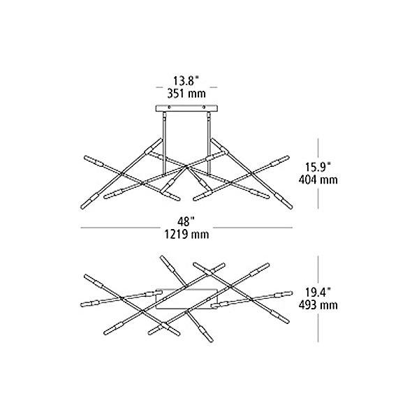 Line Wave 2 Linear Suspension Light
