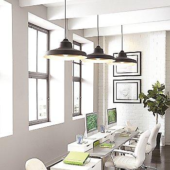 Black w/ Gold Interior finish / in use