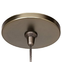 4 in. Round Flush Canopy