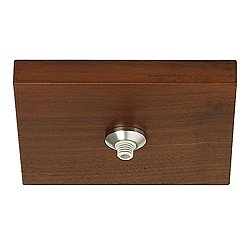 Fusion Jack 4 in. Square Flush Wood Canopy