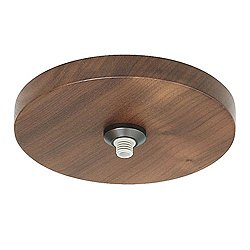 Fusion Jack 4 in. Round Flush Wood Canopy