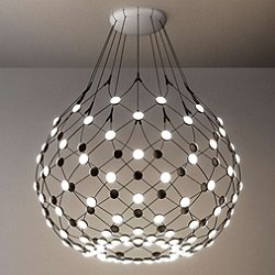 Mesh LED Pendant Light (31 Inch/3 feet) - OPEN BOX RETURN
