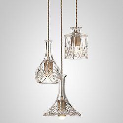Decanterlight LED Multi-Light Pendant Light