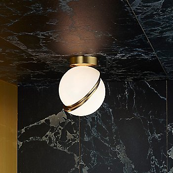 Lee Broom Mini Crescent Led Ceiling Light Ylighting Com