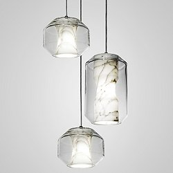 Chamber LED Multi-Light Pendant Light