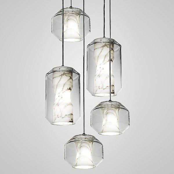 Chamber LED Multi-Light Pendant Light