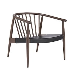 Reprise Chair with Leather Seat