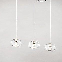 Fairy Oval Multi-Light Pendant Light