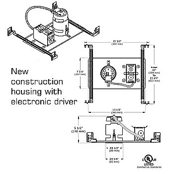 New Construction with Electronic Driver