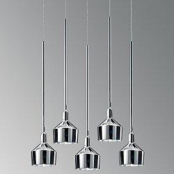 Beamer 17S R5 Multi-Light Pendant Light
