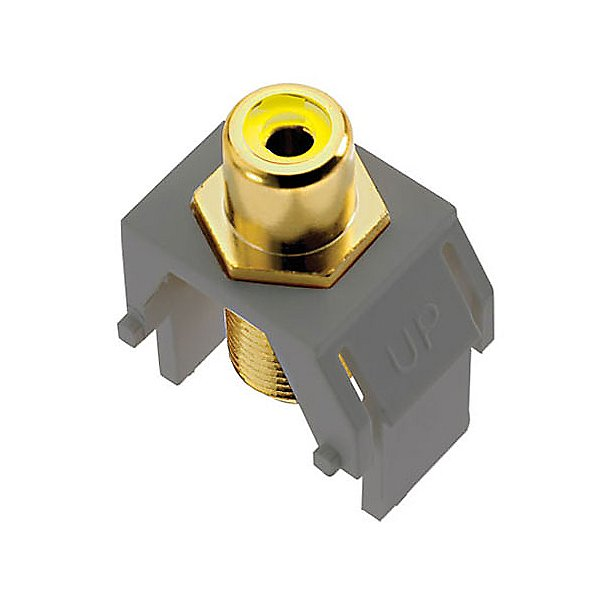 adorne Composite Video RCA to F-Connector