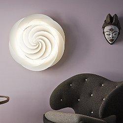 Swirl Ceiling Wall Light