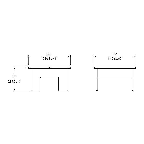 Lollygagger Ottoman/Side Table